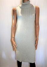 MADISON SQUARE Brand Grey Knit Roll Neck Sweater Dress Size XS BNWT #SL57
