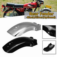 Motorcycle Rear Mud Guard Mudguard Fender For Honda CG125 CM125 Black Chrome