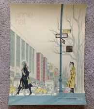 Annie Hall Anne Benjamin Rare Signed Ap Poster Art Print Like Mondo Woody Allen
