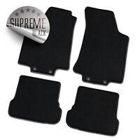 Auto-Fußmatten Supreme schwarz für Mercedes Benz SLK-Klasse R170 1996 - 2004