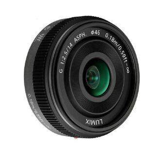 PANASONIC LUMIX G 14mm F2.5 F/2.5 ASPH AF H-H014 LENS Black or Silver