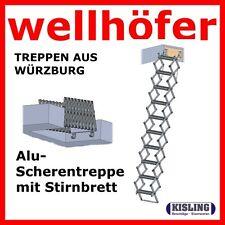 Etage Escalier Escamotable Planche de Rive pour Équipement 13 Étapes - Wellhöfer