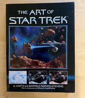 ART OF STAR TREK Hard Cover Book 1995 First Edition Near Mint / See Pictures