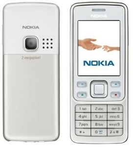 Nokia  6300 - Weiß (ohne Simlock) Handy