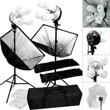 2000W Photo Studio Video Photography Softbox Light Stand Continuous Light K