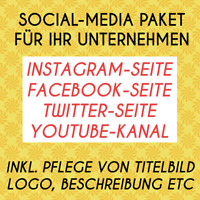 SOCIAL-MEDIA PAKET FÜR IHR UNTERNEHMEN - JETZT KOSTENGÜNSTIG DIGITALISIEREN