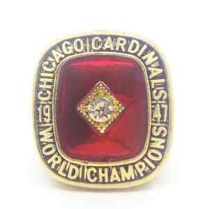 Charley Trippi Chicago Cardinals 1947 Championship Ring All Size Available 7-14