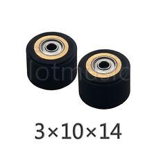 2pcs 3mm x 10mm x 14mm Pinch Roller for Roland Vinyl Cutting Plotter Cutter