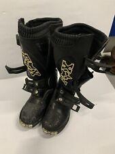 Fox Motocross Boots K6 Tracker Jr Black