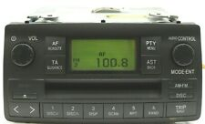 TOYOTA COROLLA CD RADIO PLAYER CAR STEREO W58802 2002 2003 2004 2005 2006
