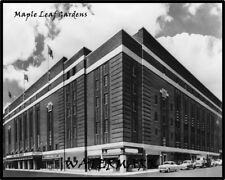 1950's Maple Leaf Gardens Toronto Maple Leafs B & W 8 X 10 Photo Picture