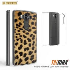 LG V10 Ultra Slim 360°Full Body Hybrid Case Built in Screen Protector Cheetah