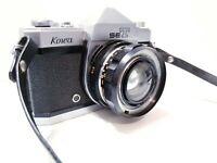 Kowa SET 35mm Film SLR Camera TTL Metering w/ Lens