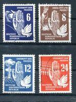DDR Nr. 276 - 279 gestempelt Frieden (#56110)