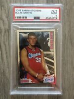 2009 Panini Stickers Blake Griffin ROOKIE RC #274 PSA 9 MINT Pop 1 Of 2