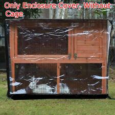 Bunny Rabbit Ferret Chicken Coop Pet Hutch Cage House Enclosure Waterproof Cover