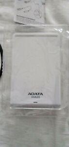 Adata HV620S 1TB Mobile External Hard Drive in whit   USB3.0