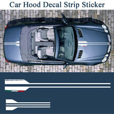 Car Styling Hood White Graphic Vinyl Decal Sticker For Mercedes Benz AMG A C E G