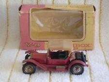 "Matchbox 1/48 Y8-3 ""1914 Stutz Roadster Metallic Dark Red"" in It's original box."
