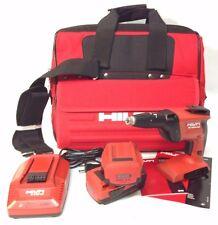 Hilti SD-4500-A22 18v CPC Compact Cordless High Speed Drywall Screwdriver Kit