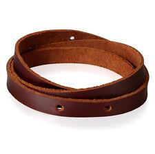 Men Retro Punk Multilayer Leather Wrap Cuff Bangle Bracelet Wristband Adjustable
