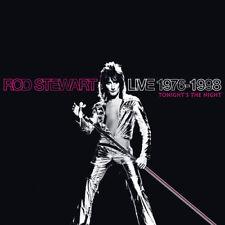 Rod Stewart : Live 1976-1998: Tonight's the Night CD (2014) ***NEW***