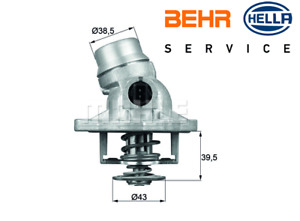 BMW THERMOSTAT E38 E39 E53 X5 535i 540i 735i 740i 09/98 ---> on BEHR 11531436386