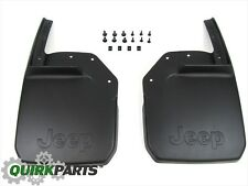 2007-2017 Jeep Wrangler Front Molded Splash Guards MOPAR GENUINE OEM BRAND NEW