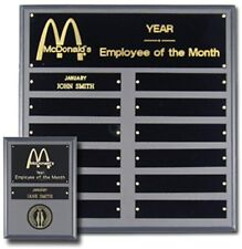 Award Plaque Employee of the Month