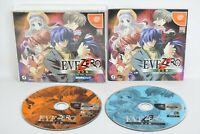 EVE ZERO PERFECT Edition Kanzen Ban Dreamcast Sega Japan Game dc