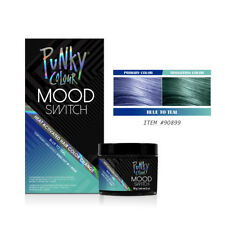 Punky Color Mood Switch Temporary Hair Color - Black To Teal #90899