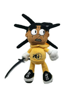 Kodak Black Lil Bill Plush SG Sniper Gang Limited Rare Sold out Yak HBK Bear
