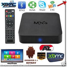 BOX TV MXQ DTT SMART ANDROID INTERNET TV FULLHD WIFI 4XCPU 4XGPU MEDIA PLAYER