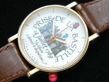 Alain Silberstein  Bastille prison Watch USED Authentic Vintage EMS SHIPPING