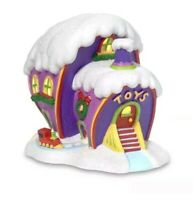 Grinch Who-ville Toy Shop NEW Christmas Village Dept 56 Dr Seuss whoville xmas