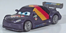 """Disney Pixar Cars 2 Max Schnell 3"""" Diecast Scale Model Carbon Racers WTCL"""