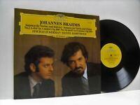 ZUKERMAN, BARENBOIM brahms sonatas for violin and piano LP EX+, 2530 806, vinyl,