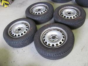 4 Sommerreifen Sommerräder Stahlfelge VW Caddy 6.5x15 ET47 195/65/15 91H