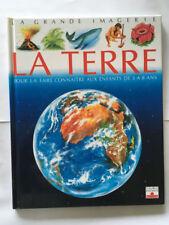 GRANDE IMAGERIE LA TERRE FLEURUS 1994 ILLUSTRE