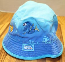 TODDLER SIZE 2T-5T FINDING NEMO BUCKET HAT BLUE VERY GOOD CONDITION