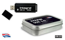Integral TITAN 256GB USB 3.0 Flash Drive - Ultra Fast Data Transfer