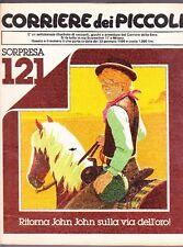 CORRIERE DEI PICCOLI 1980  NR. 5 - PUFFI - TIZIANO SCLAVI - POSTER