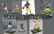 Choice of 1 Los Angeles Rams Custom  Action Figure Mcfarlane NFL St Louis LA STL