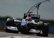 Kazuki Nakajima mano firmado AT&T Williams F1 Foto 7x5 17.