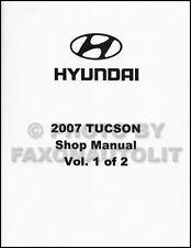 2007 Hyundai Tucson Shop Manual Volume 1 Engine Emissions Fuel Repair Service