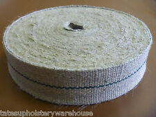 33 Metre Roll Professional Upholstery Jute Webbing 12lb Strapping