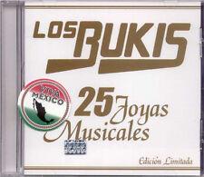 LOS BUKIS 25 JOYAS CD NEW GRANDES EXITOS GREATEST HITS
