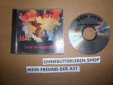 CD rock Bon Jovi-Live in concert (9) canzone TOP SOUND