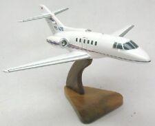 Hawker 800-XP Private Airplane Wood Desktop Model Large