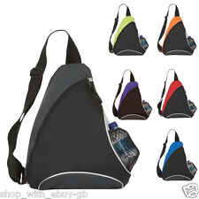 Men's Sling Bag Crossbody Shoulder Bag Mono Strap Sports Rucksack Chest Bag UK